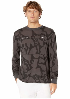 Nike SB Dry Print Mesh Long Sleeve Top