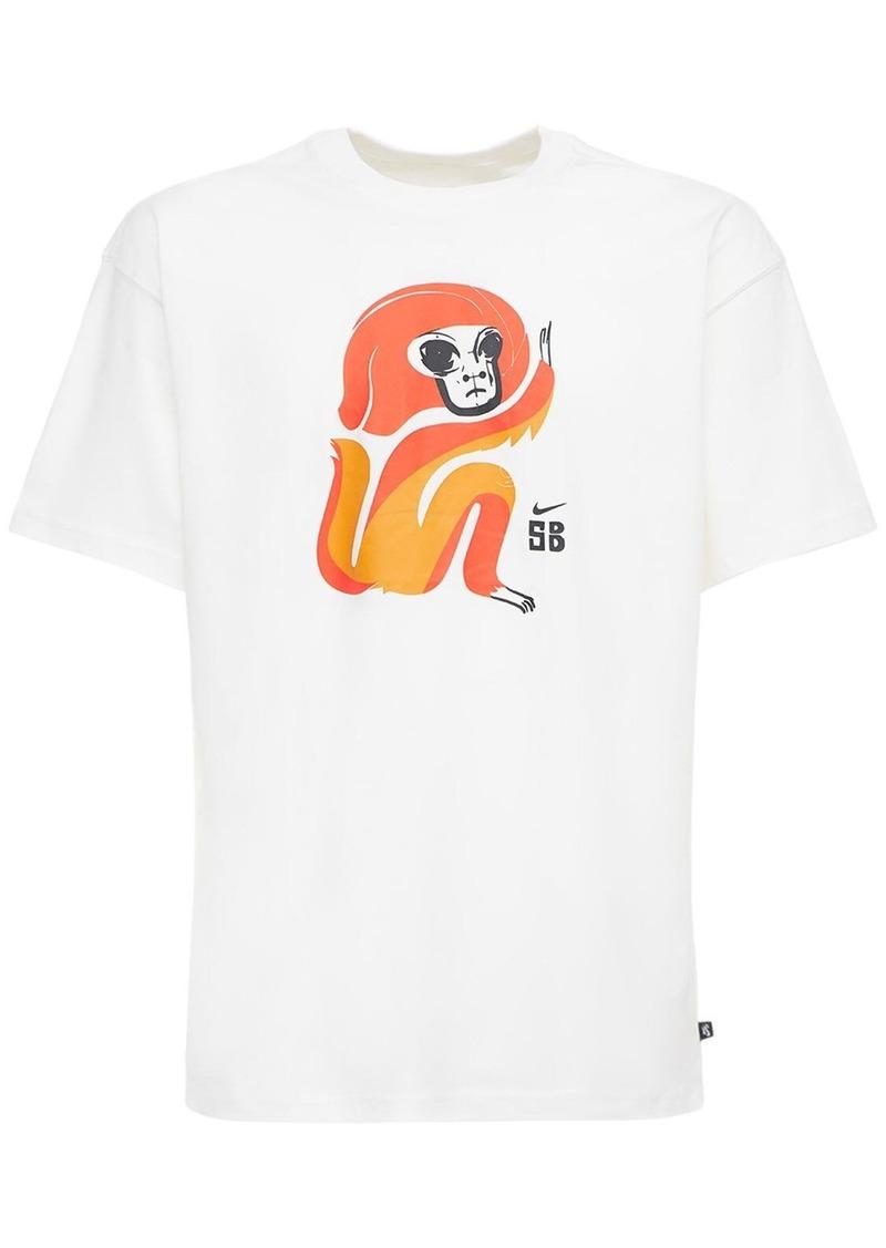 Nike Sb Skate Printed Cotton T-shirt