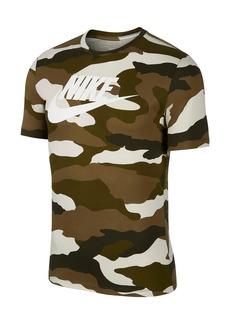 Nike Short Sleeve Camo Print T-Shirt