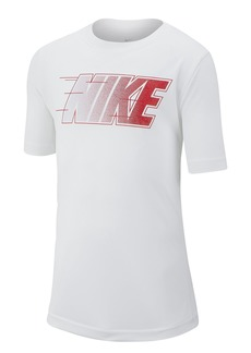 Nike Short Sleeve Graphic Training Top (Big Boys)