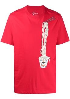 Nike short sleeve lace noodles T-shirt