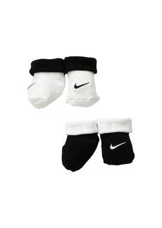 Nike Simple Swish Bootie 2-Pair Pack (Infant)