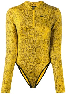 Nike snakeskin print body