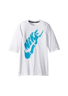 Nike Solid Half Sleeve Hydroguard (Big Kids)