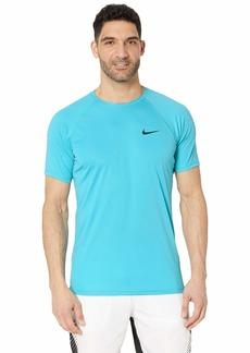 Nike Solid Short Sleeve Hydroguard