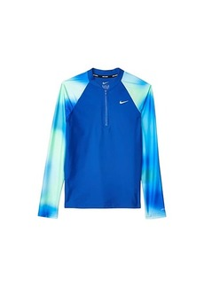 Nike Spectrum Long Sleeve Zip Hydroguard (Little Kids/Big Kids)