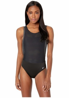 Nike Sport Mesh Convertible Layered One-Piece