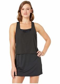 Nike Sport Mesh Reversible Layered Dress Cover-Up
