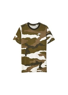 Nike Sportswear All Over Print Camo Futura Tee (Big Kids)