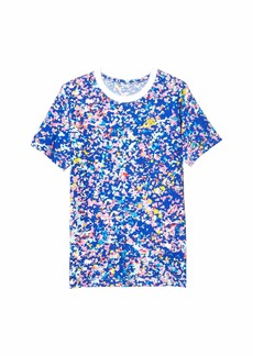 Nike Sportswear All Over Print Playground Tee (Big Kid)