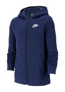 Nike Sportswear Club Full-Zip Hoodie (Big Boys)
