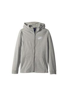 Nike Sportswear Full-Zip Hoodie (Little Kids/Big Kids)