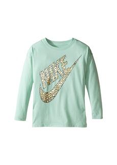 Nike Sportswear Long Sleeve Graphic Top (Little Kids/Big Kids)