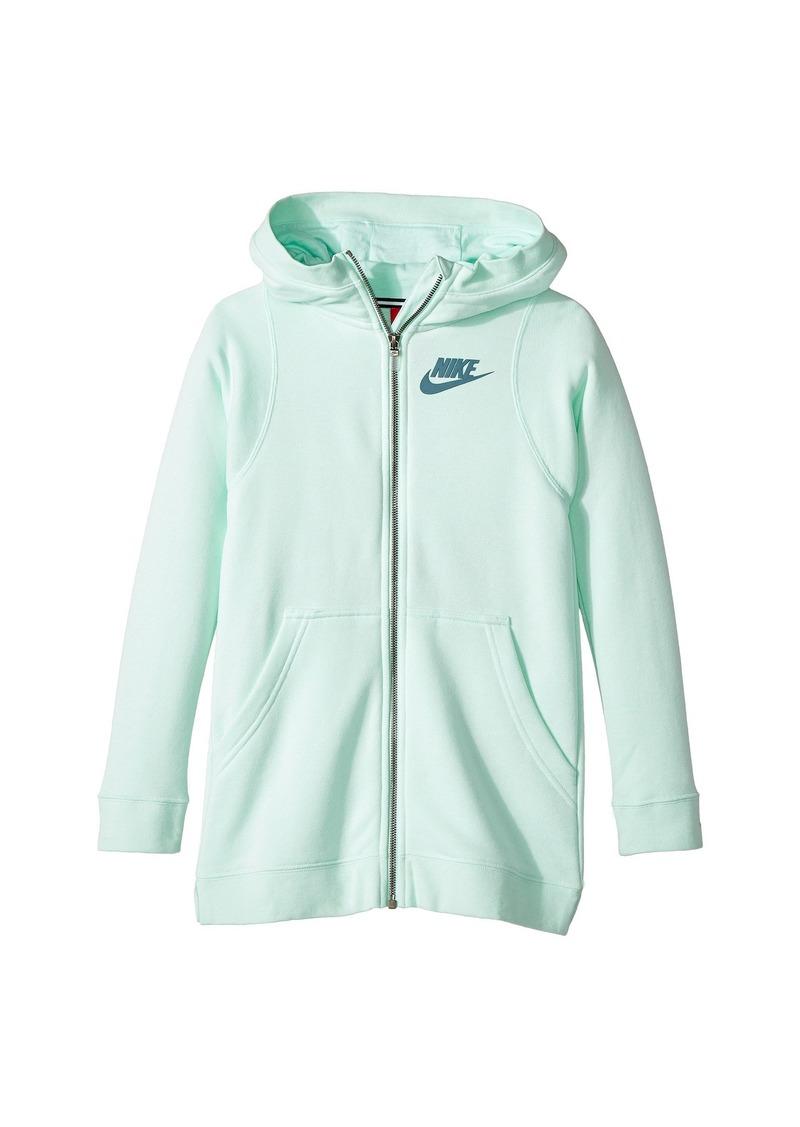 5067a8cf0f0f5f Nike Sportswear Modern Full-Zip Hoodie (Little Kids Big Kids ...