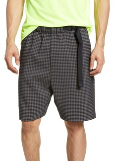 Nike Sportswear Tech Pack Gridded Athletic Shorts