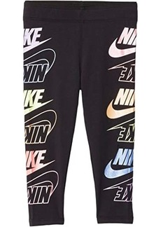 Nike Stacked Logo Leggings (Toddler/Little Kids)