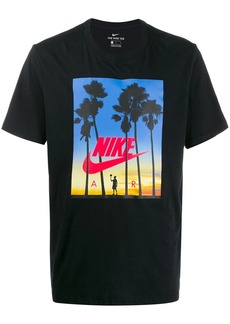 Nike Sunset logo print T-shirt