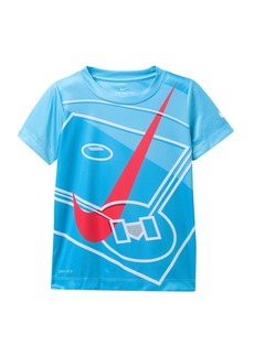 Nike Swoosh Aerial Short Sleeve T-Shirt (Toddler Boys)