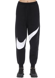 Nike Swoosh Cotton Blend Trousers