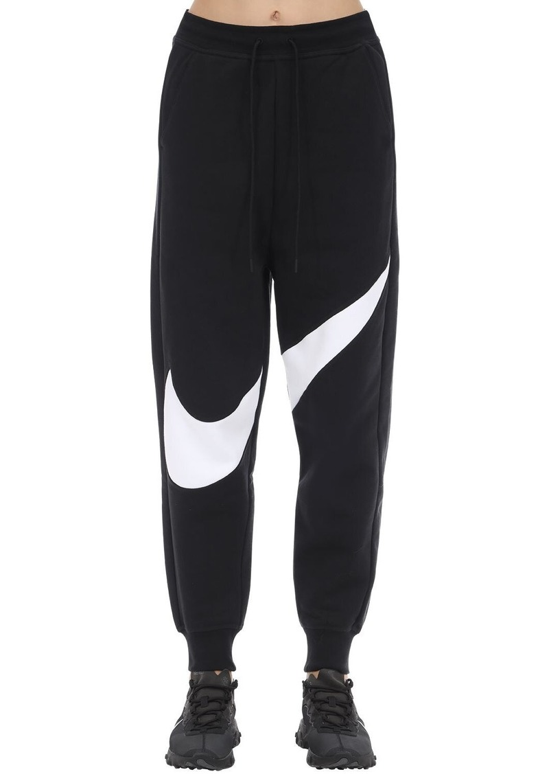 Nike Swoosh Cotton Blend Trousers