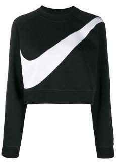 Nike swoosh fleece crewneck sweatshirt