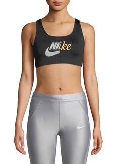 Nike Swoosh Futura Mid-Impact Sports Bra