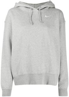 Nike Swoosh logo long-sleeved hoodie