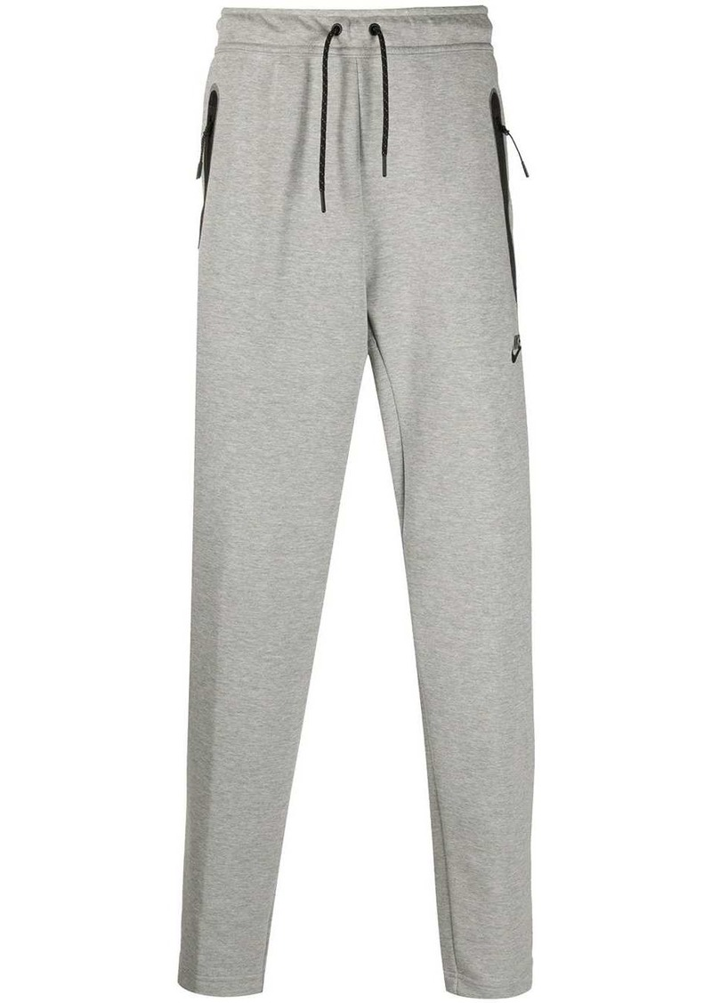 Nike swoosh logo track trousers