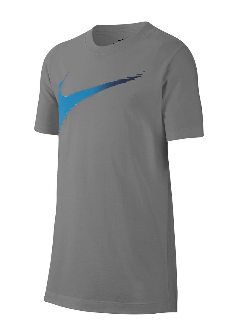 Nike Swoosh Matrix Tee (Big Boys)