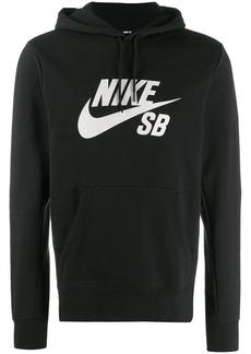 Nike swoosh print hoodie