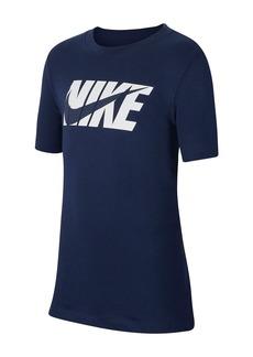 Nike Swoosh Short Sleeve T-Shirt (Big Boys)