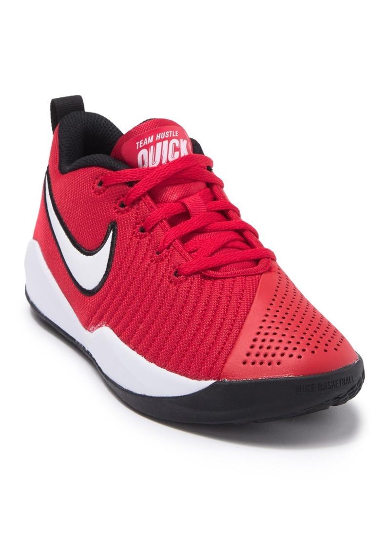 Nike Team Hustle Quick 2 Sneaker (Big Kid)