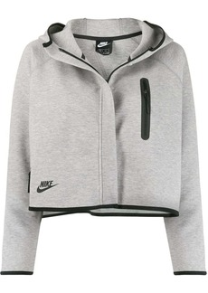 Nike Tech Fleece cropped hooded jacket