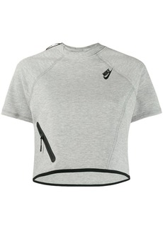 Nike Tech Fleece cropped top