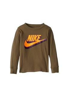 Nike Textured Logo Graphic T-Shirt (Little Kids)