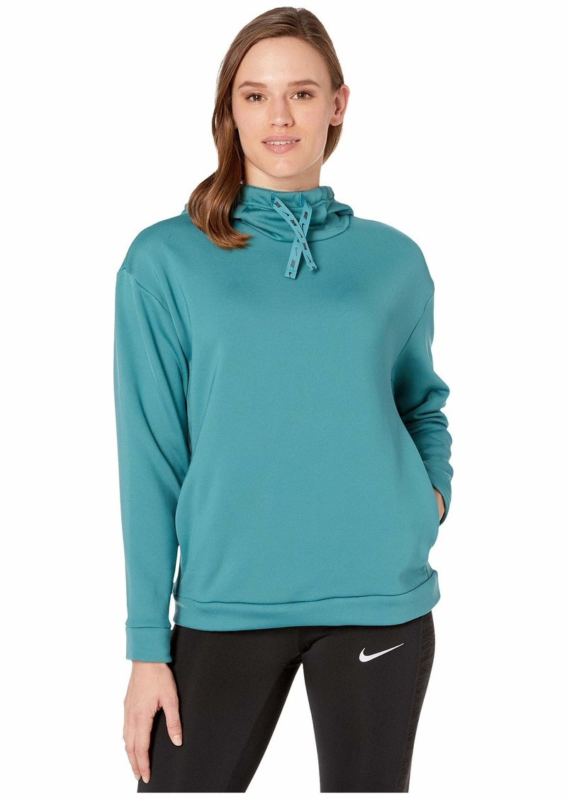 Nike Therma All Time Ribbon Drawcord Pullover Hoodie