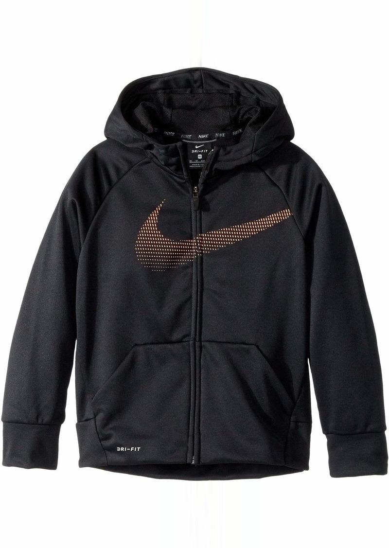 3807d7745 Nike Therma Full-Zip Training Hoodie (Little Kids/Big Kids) | Outerwear
