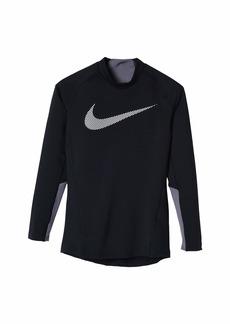 Nike Therma Long Sleeve Mock (Big Kids)