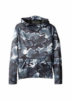 Nike Therma Printed Pullover Hoodie (Little Kids/Big Kids)