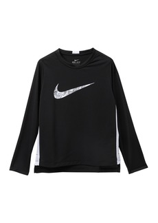 Nike Thermal Dominate Long Sleeve Shirt (Big Boys)