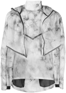 Nike tie-dye layered jacket