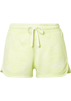 Nike Tie-dyed French Cotton-terry Shorts