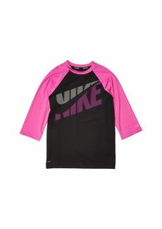 Nike Tilt Short Sleeve Hydroguard (Little Kids/Big Kids)