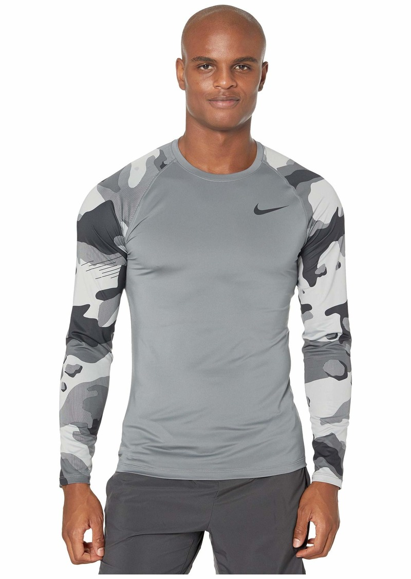 Nike Top Long Sleeve Slim Camo 1