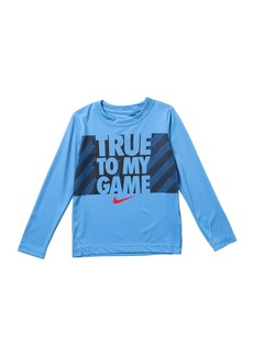 Nike True To My Game Long Sleeve T-Shirt  (Little Boys)