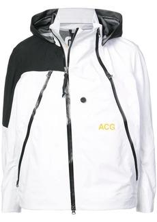 Nike two-tone hooded jacket