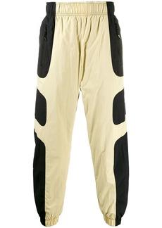 Nike two tone track trousers
