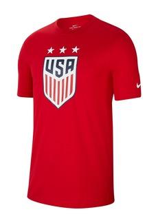 Nike U.S. Soccer Crest Crew Neck T-Shirt