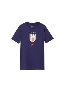 Nike USA 4-Star Crest Tee (Little Kids/Big Kids)