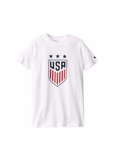 Nike USA Crest T-Shirt (Little Kids/Big Kids)